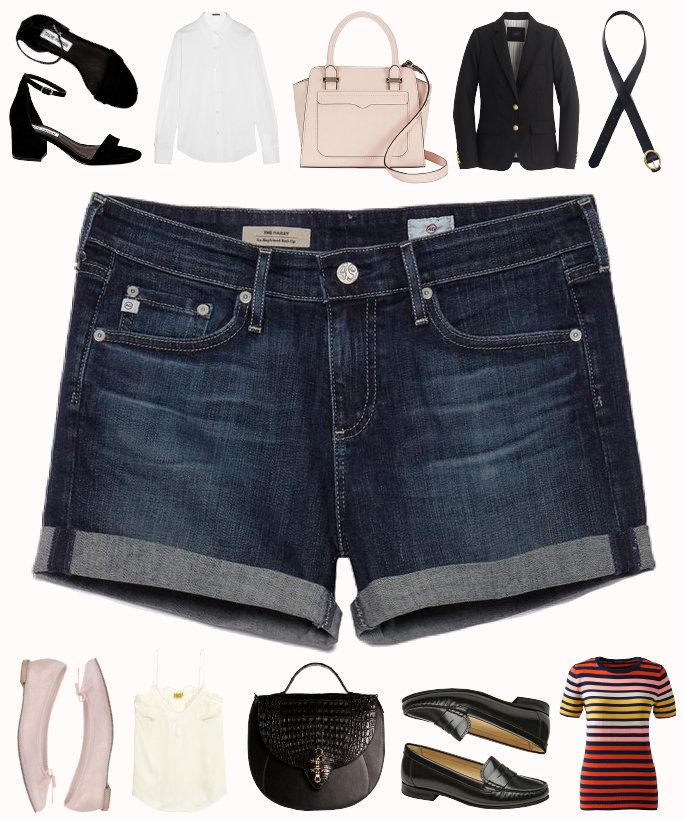 3 kiểu phối đồ cực chất với quần short