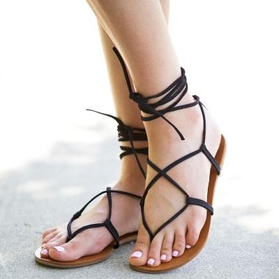6 kiểu sandals cho mùa xuân nhộn nhịp