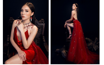 Ai sẽ là người mặc chiếc đầm của NTK Đỗ Long đẹp nhất Lan Khuê, Kỳ Duyên hay Tân Hoa hậu Hoàn Vũ?