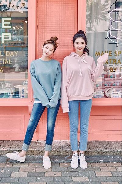 Bao la những kiểu phối đồ với quần jeans cực xinh cho các nàng