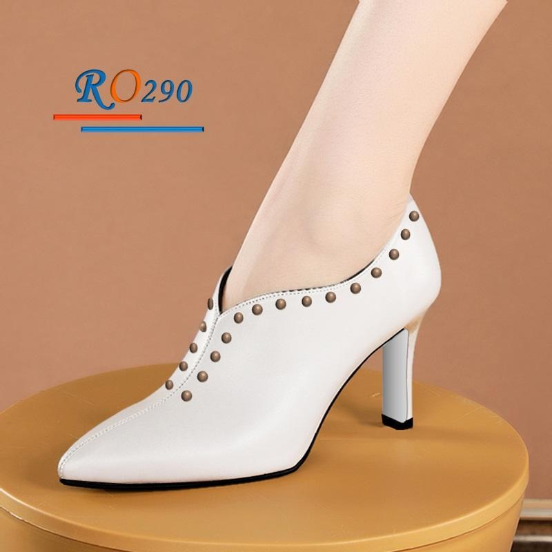 Giày Boot cổ thấp RO290 Màu Trắng