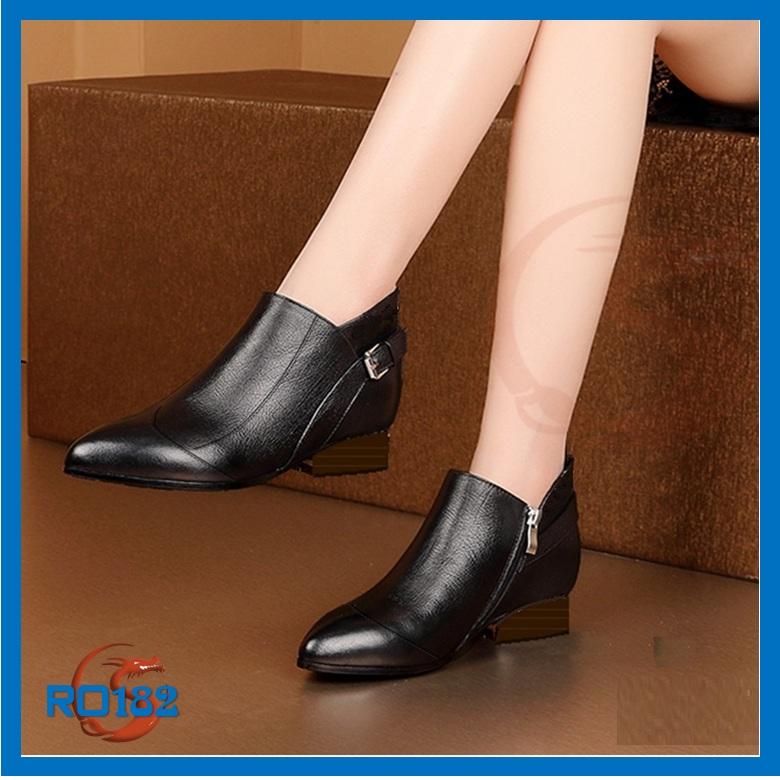 Giày boot nữ bệt RO182