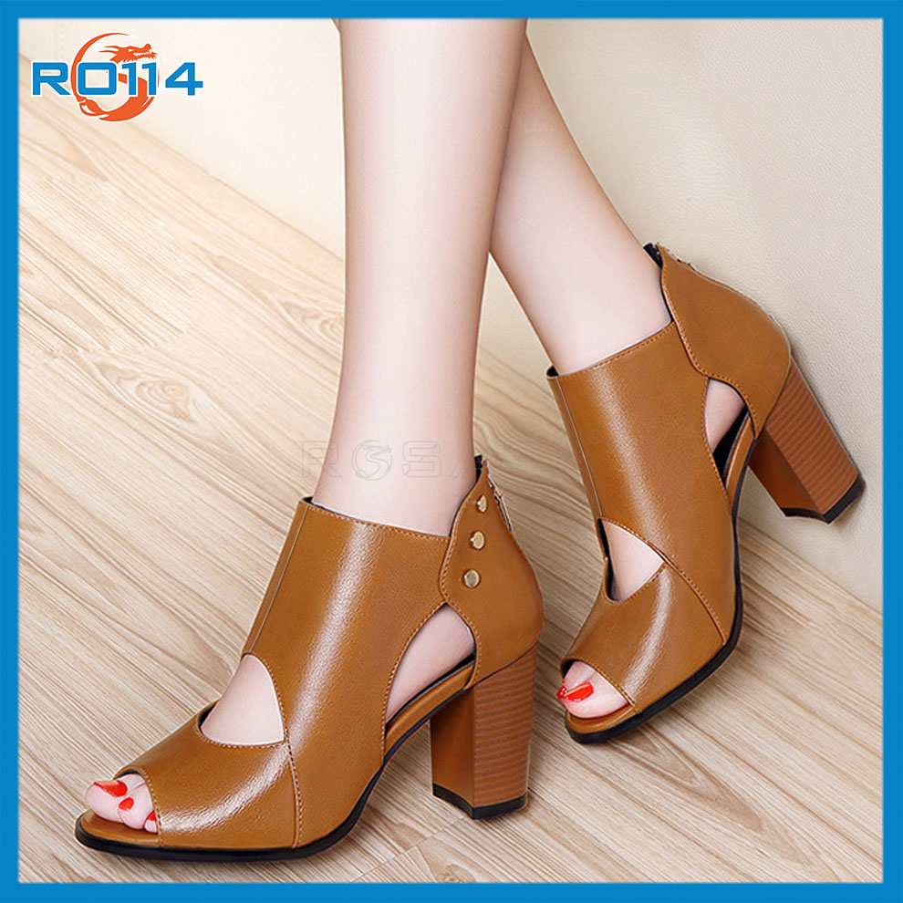 Giày boot nữ Phá Cách RO114