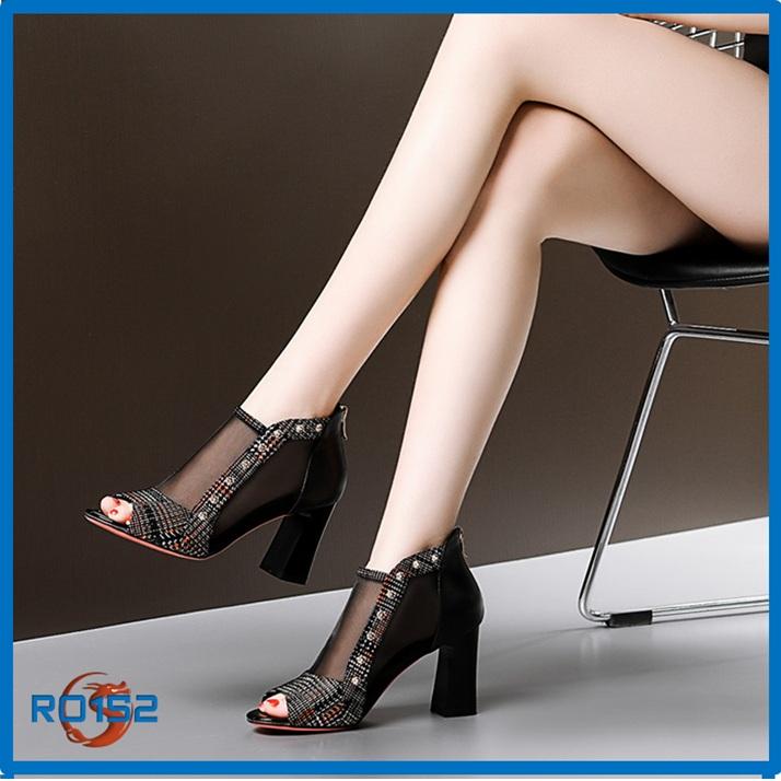 Giày boot nữ RO152