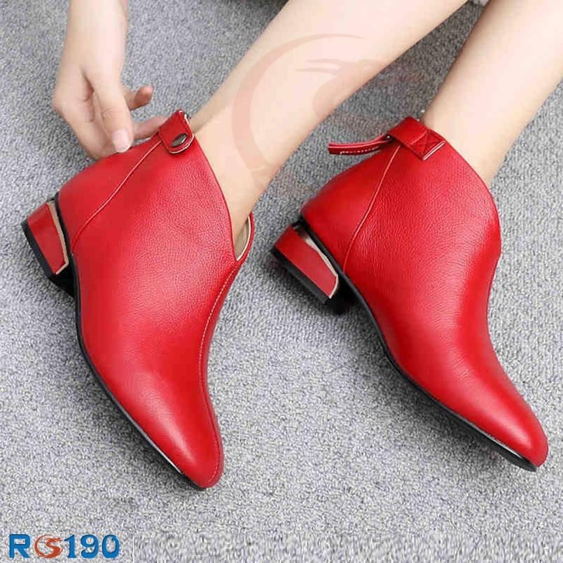 Giày boot nữ RO190