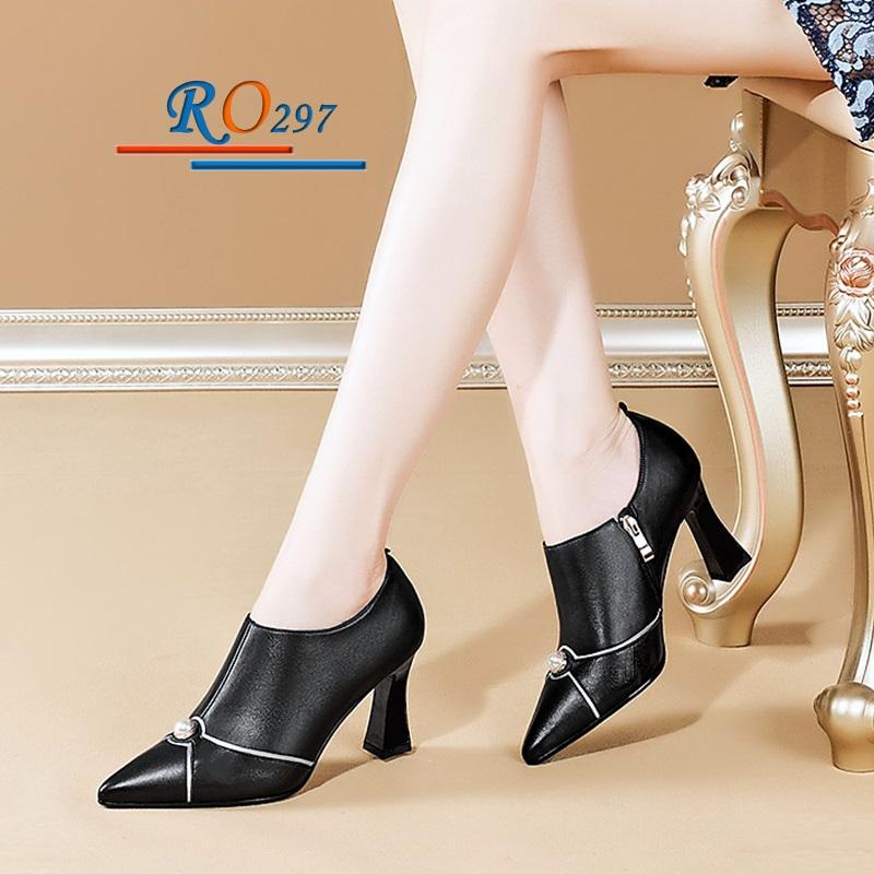 Giày Boot nữ RO297
