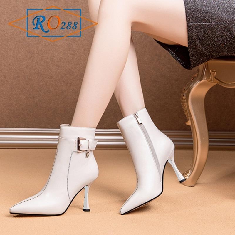 Giày Boot nữ trên mắc cá chân RO288