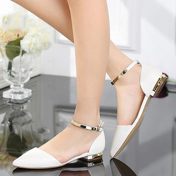 Giày búp bê nữ BBN01 màu trắng