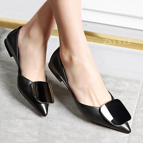 Giày búp bê nữ BBN03 màu đen