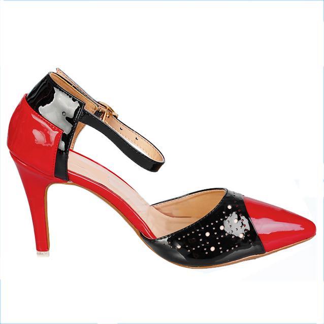 Giày cao gót nữ CGN018 màu đỏ