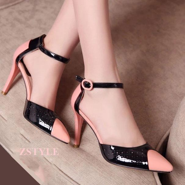 Giày cao gót nữ CGN018 màu kem