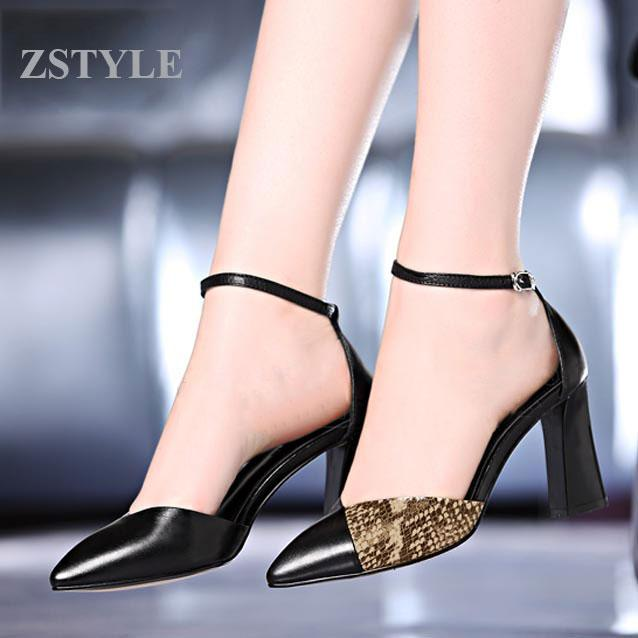 Giày cao gót nữ CGN023 màu đen