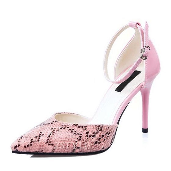 Giày cao gót nữ CGN025 màu hồng