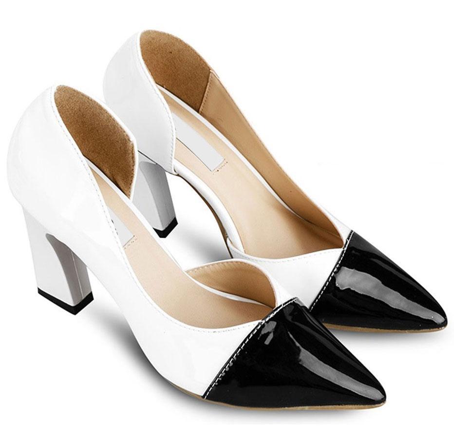 Giày cao gót nữ CGN026 màu trắng