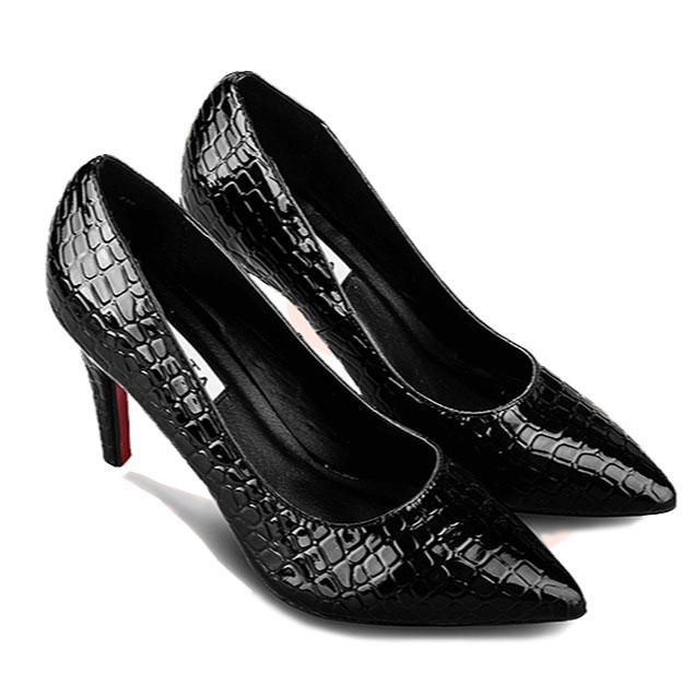 Giày cao gót nữ CGN027 màu đen