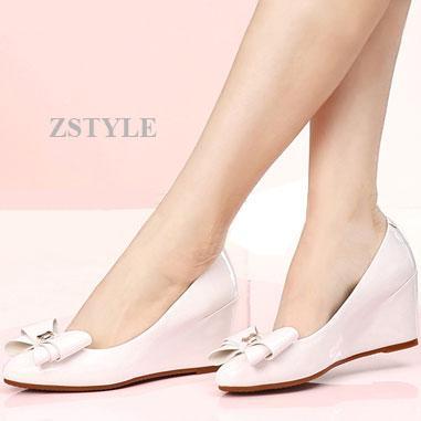 Giày cao gót nữ CGN029 màu trắng