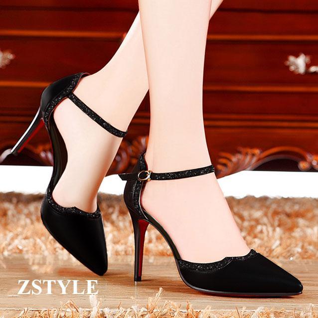 Giày cao gót nữ CGN030 màu đen