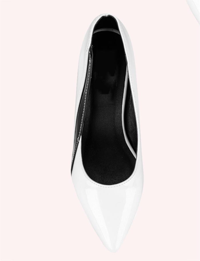 Giày cao gót nữ CGN034 màu trắng