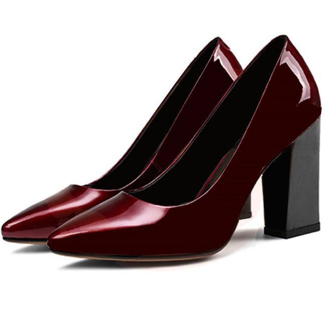 Giày cao gót nữ CGN037 màu đỏ