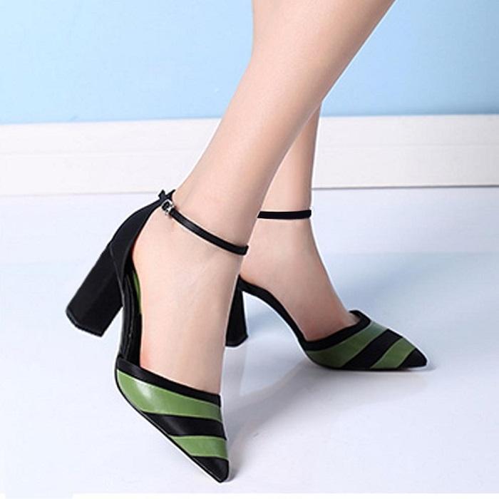 Giày cao gót nữ CGN052 màu đen