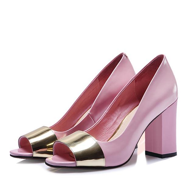 Giày cao gót nữ CGN056 màu hồng