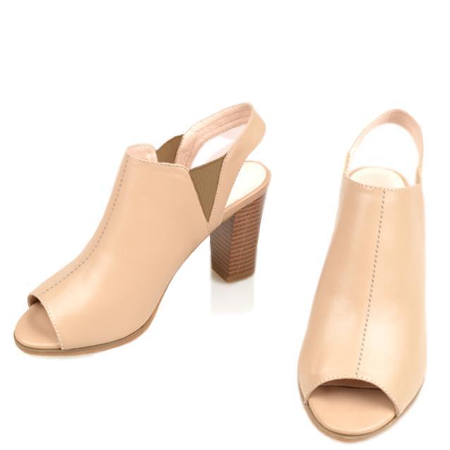 Giày cao gót nữ CGN059 mà kem