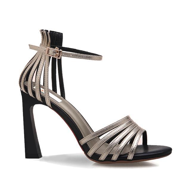 Giày cao gót nữ CGN06 màu vàng đồng