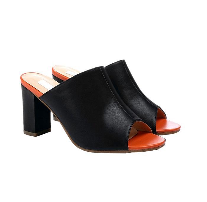 Giày cao gót nữ CGN062 màu đen