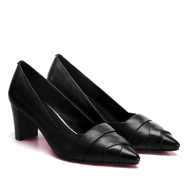 Giày cao gót nữ CGN08 màu đen