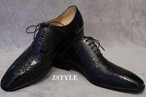Giày da cá sấu xu hướng giày cho quý ông thành đạt