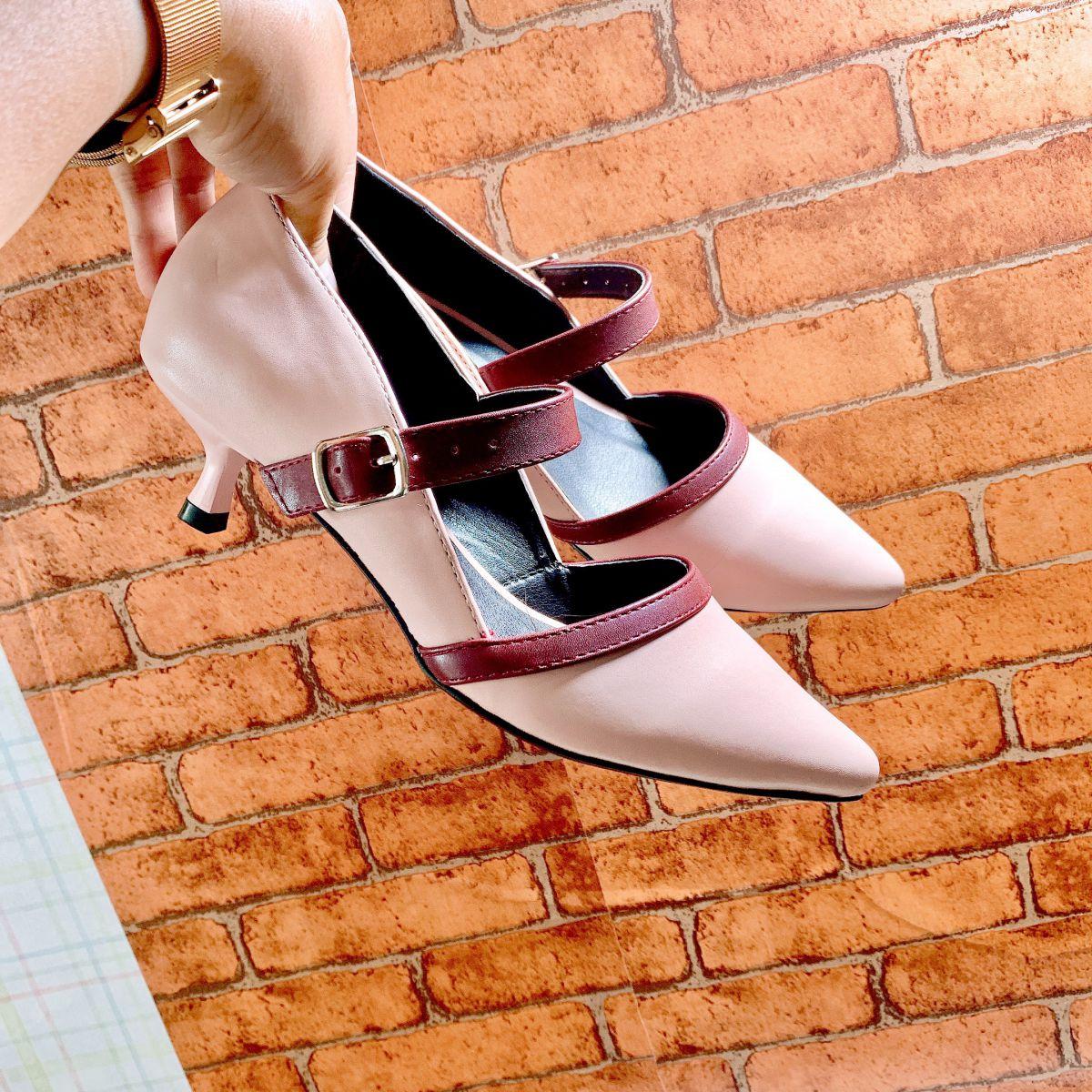 Giày Sandal Bít Mũi RO263
