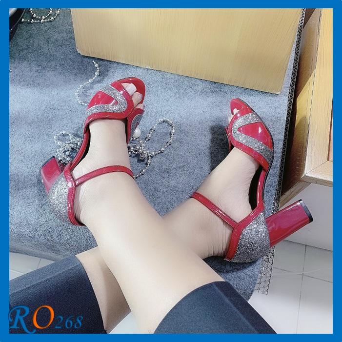 Giày Sandal hỡ mũi RO268