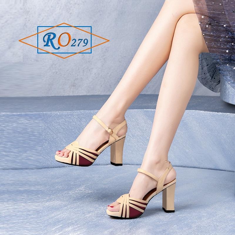 Giày xăng đan nữ Đúp 2Cm RO279