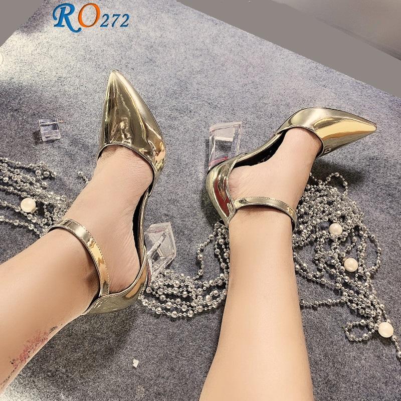 Giày xăng đan nữ RO272 màu Vàng