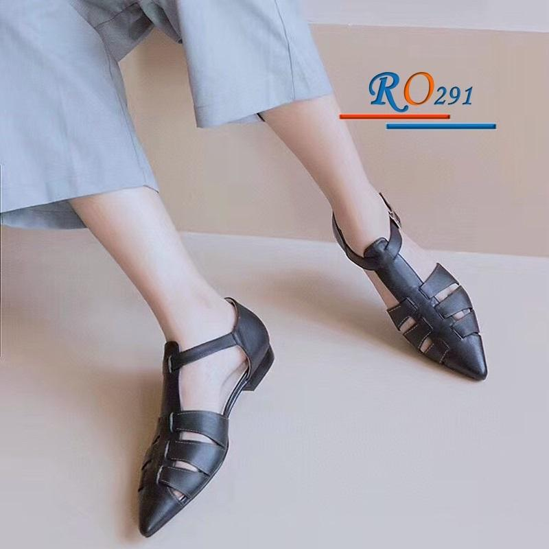 Giày xăng đan nữ RO291 Màu Đen