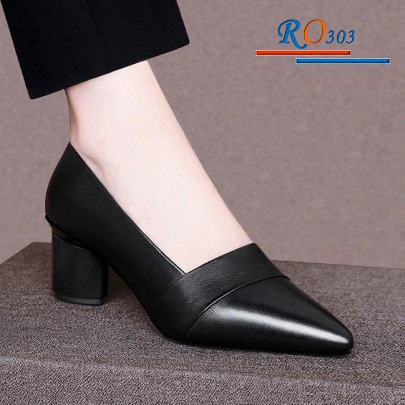 Giày xăng đan RO303 Màu Đen