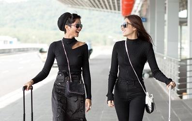 Kể từ khi đăng quang, đây là lần đầu tiên Hoa hậu H'Hen Niê xuất hiện với phong cách thời trang đường phố