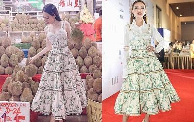 Một pha đụng hàng không hề chặt chém, một bộ váy điệu đà nữ tính lại có hai cách thể hiện khác nhau hoàn toàn giữa Tú Hảo và Angela Phương Trinh