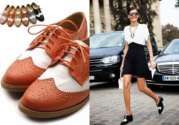 Mùa xuân đến đi giày gì trên phố