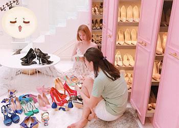 Những món đồ hàng hiệu của ngọc trinh & Bộ sưu tập giày của ngọc trinh