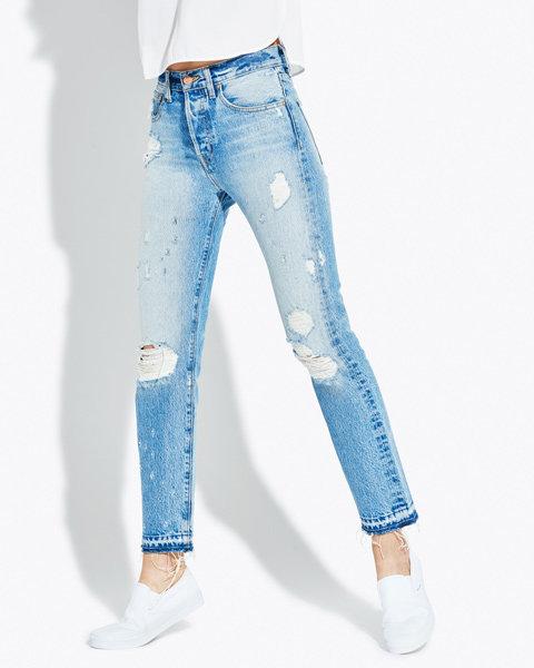 Quần Jean cho nàng lưng dài & Cách mặc đồ cho người lưng dài