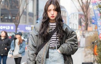 Street style tuần qua của giới trẻ Hàn Quốc là một bữa tiệc layering với những set đồ tầng lớp tưởng không cool mà lại cool không tưởng