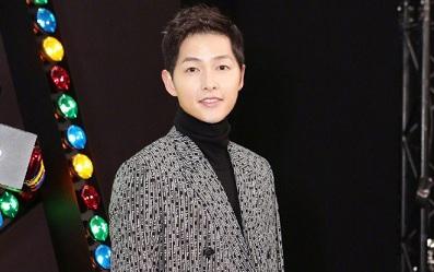 Sự xuất hiện của Song Joong Ki đã thu hút sự chú ý đông đảo từ giới truyền thông quốc tế