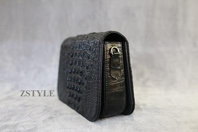 Túi đeo chéo nữ da cá sấu TDCNU02
