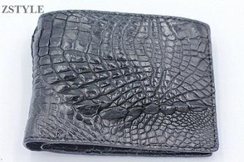 Ví nam da cá sấu viền đuôi VCSVD01