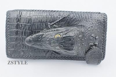 Ví nam đầu cá sấu VNDCS03