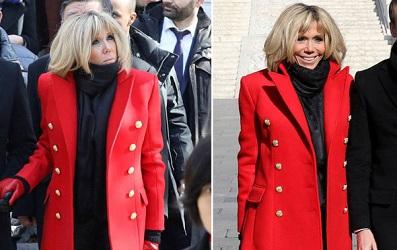 Vợ tổng thống Pháp mặc gì khi đến thăm Trung Quốc?