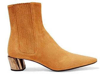 Xu hướng giày boot cổ thấp trở lại trong năm 2018